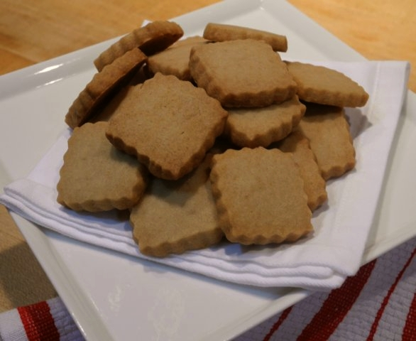 Brown Sugar Shortbread » Adri Barr Crocetti