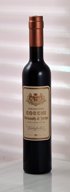 Vermouth Bottle