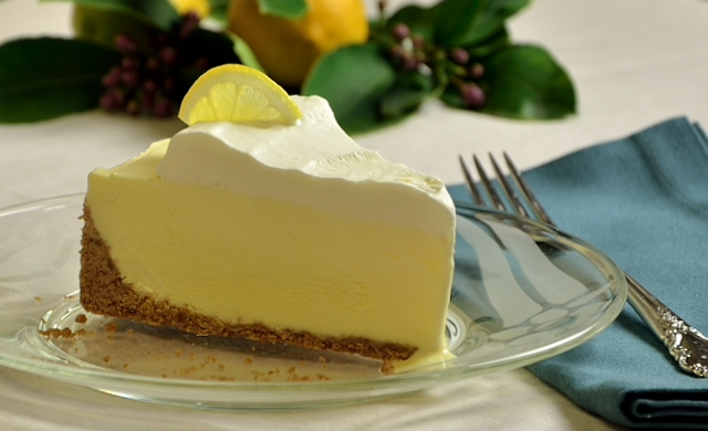 Meyer Lemon Gelato Pie – Happy Pi Day » Adri Barr Crocetti