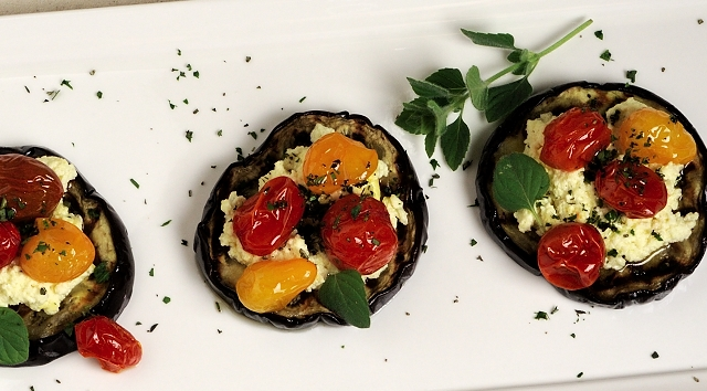 Eggplant-Roasted-Tomatoes-Ricotta