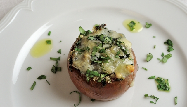 Stuffed Tomatoes Pendolino Olive oil