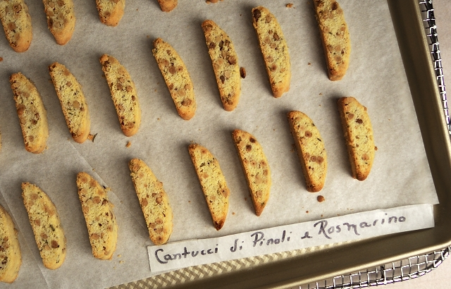 Biscotti Finished