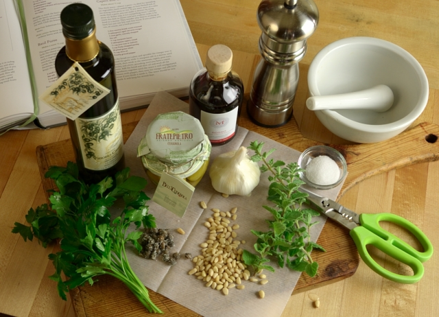 Marjoram Sauce With Capers & Green Olives Recipes — Dishmaps