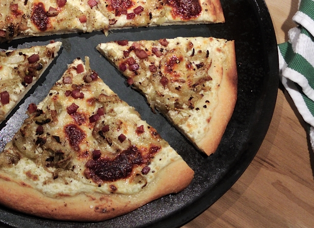 Pizza Bianca with Roasted Fennel