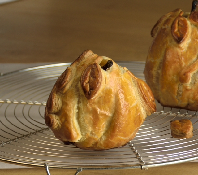 Baked-Pears in Pastry